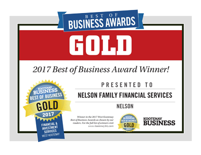 Kootenay Best of Business Award Winner!